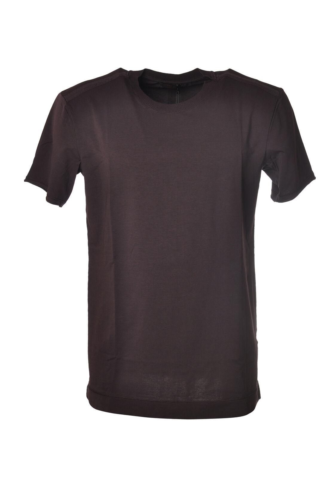 Hosio - Topwear-T-shirts - Man - Braun - 5823212M185057