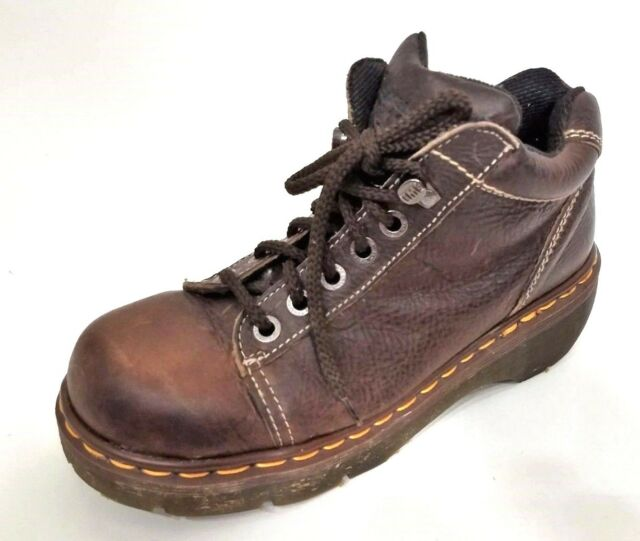 Dr Martens 5 Eye Ankle Boots 8542 Brown Made in England UK 7, US women 9, mens 8
