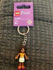 Lego 853550  Key Chain Stephanie Minifigure Friends Girl Key Ring New