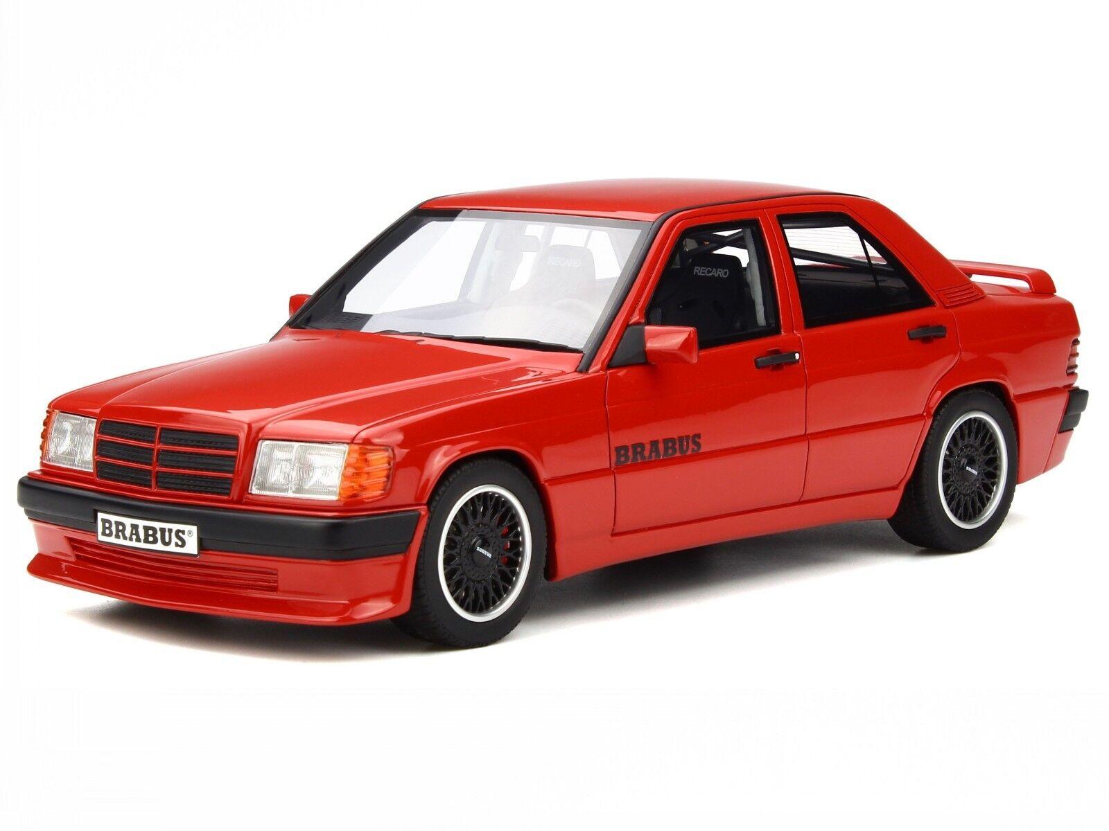 Mercedes W201 190E 3.6S BRABUS red diecast modelcar OT674 Otto 1 18