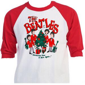 The Beatles Cartoon Retro 60 S Beatles Christmas T Shirts Sizes S 5xl T 1441 Ebay