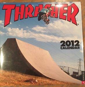 Thrasher-Skateboards-2012-Collectible-Calendar-New-Skate-Skateboarding