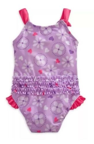 New Disney Store Sofia The First Swim Suit Beach Bathing Suit Size 2 Girls