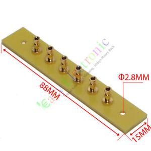 50pc-copper-plated-Gold-Fiberglass-Turret-Terminal-Strip-6pin-Lug-Tag-Board-amps