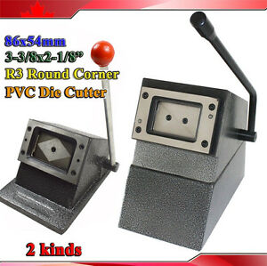 2kinds heavy duty cr80 86x54mm pvc id credit card die cutter r3 2kinds heavy duty cr80 86x54mm pvc id credit reheart Gallery