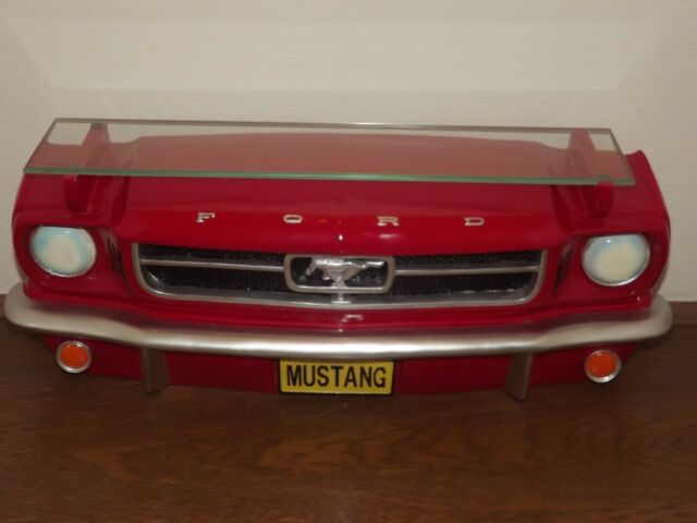 1964 Ford Mustang 3D Front Wall Shelf With Tempered Glass Shelf NEW SALE