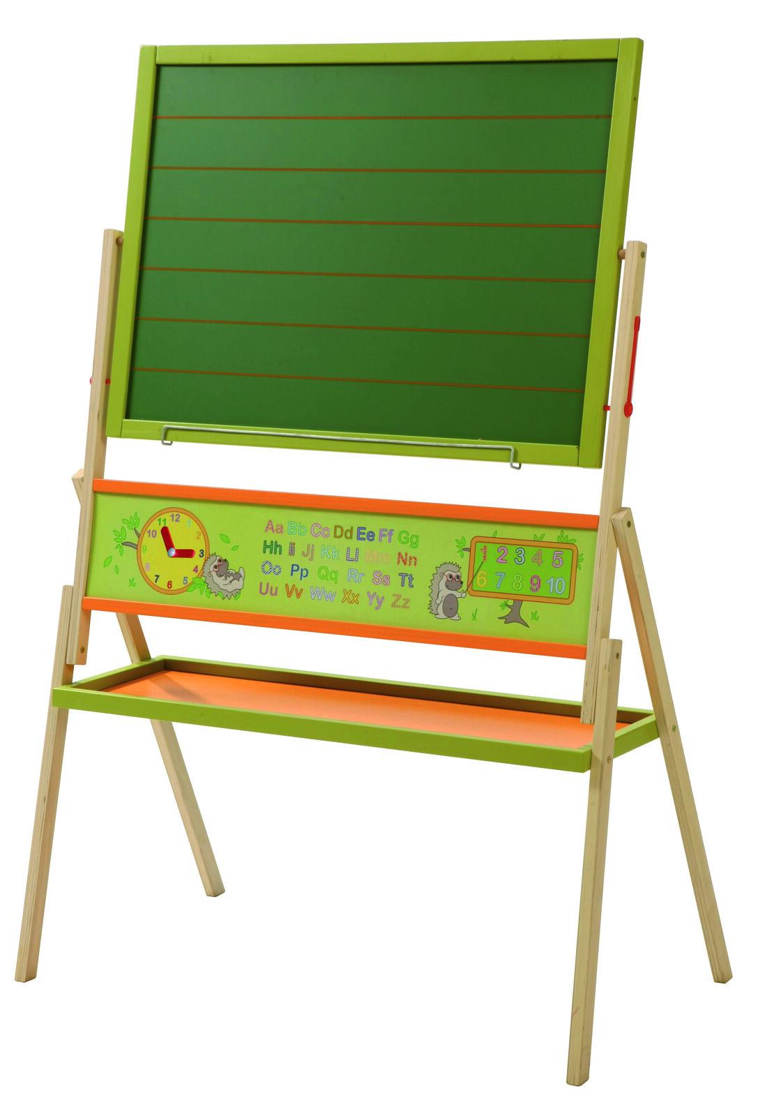 Stift und Schwamm 2 in 1 Whiteboard 64x65cm mit Kreide