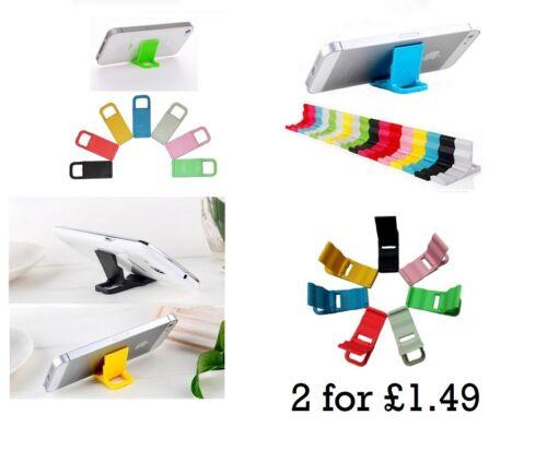 2 X Universal del Teléfono Móvil Llavero Stand-Escritorio Estación iPhone Samsung Llavero