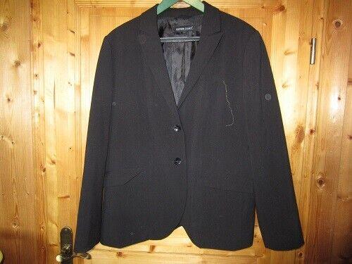 wunderschöner schwarzer Blazer in Gr. 48 von Michele Boyard
