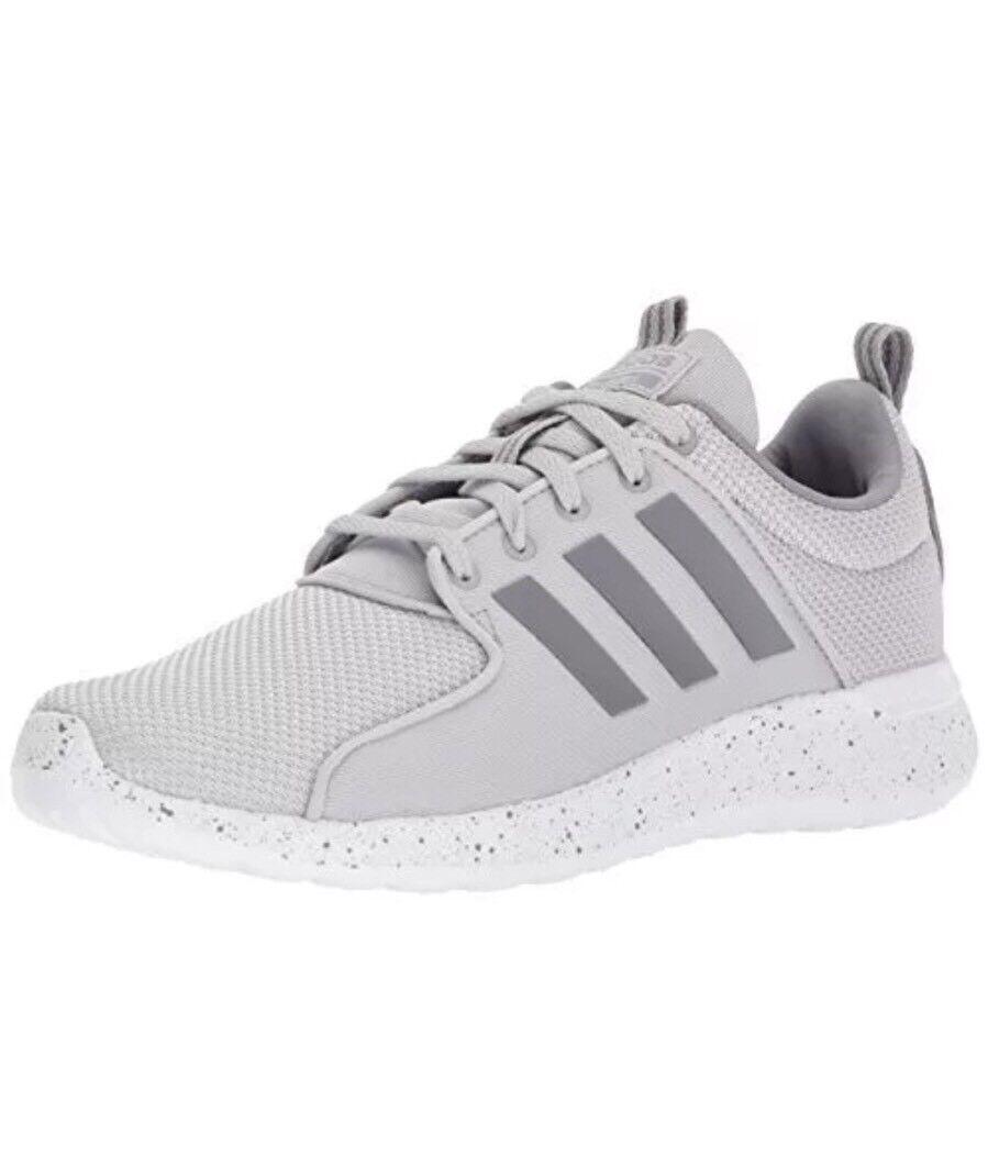adidas Men's CF Lite Racer Running Shoe,Grey Two/Grey Three/White,10 M US