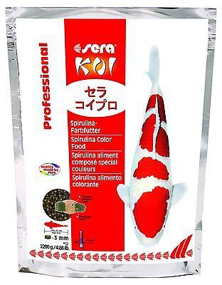 (eur 9,50 / Kg) Sera Koi Professional Spirulina-farbfutter 3000 G Niedriger Preis