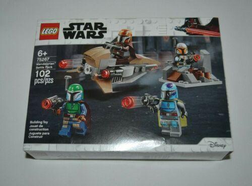 2020 LEGO STAR WARS MANDALORIAN BATTLE PACK # 75267 FACTORY SEALED !!