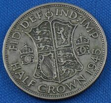Half Crown Silber 1945 Grossbritanien