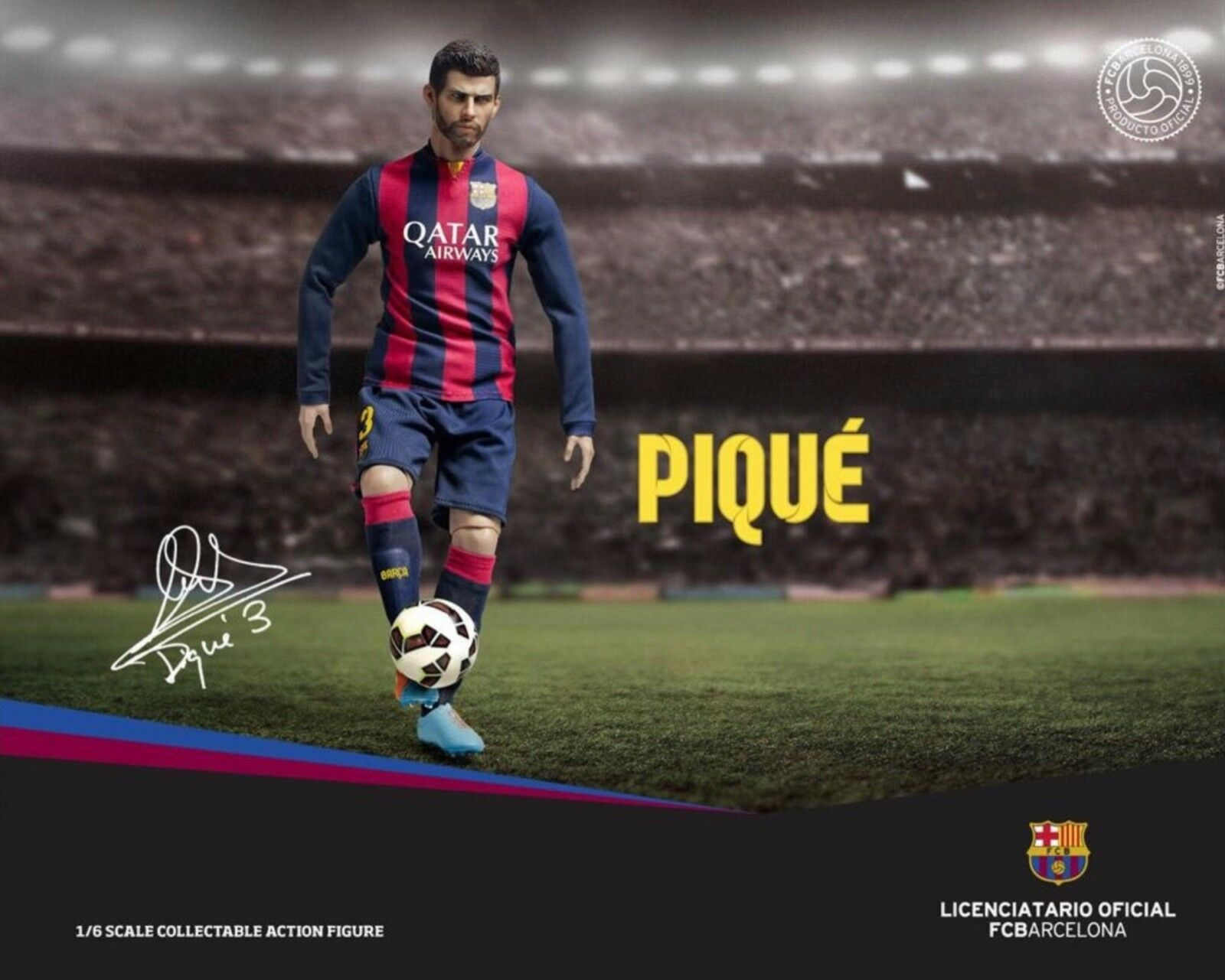 1 6 ZC-167 Piqué FC Barcelona