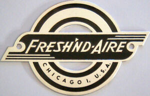 Freshn-039-d-Aire-Electric-Cage-Badge-Reproduction