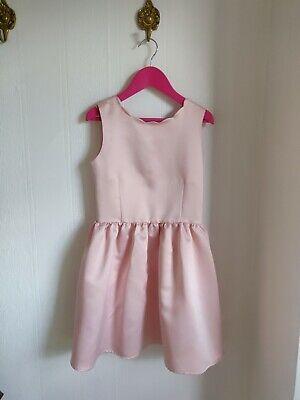 H&M festliches Kleid Fest Party 134 rosa festlich top ...