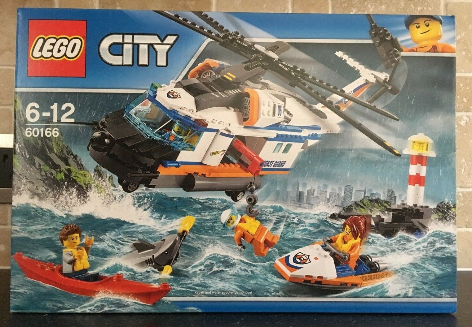 LEGO CITY - 60166 Heavy Duty Rescue Helicopter Brand New In Sealed Box