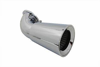 Funnel Air Cleaner Breather Chrome,for Harley Davidson motorcycles,by V-Twin