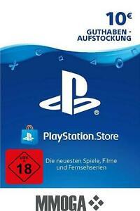 10€ PSN DE Playstation Network Code Card 10 Euro € PS4, PS3, PS Vita Guthaben
