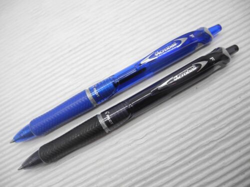 12 Pens Pack Pilot Acroball 0.7mm fine point acro ink ballpoint ball pen Black