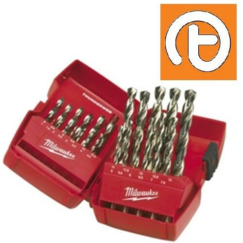 Milwaukee 19pce Thunderweb HSS Twist Drill Set 1.0-10.0mm