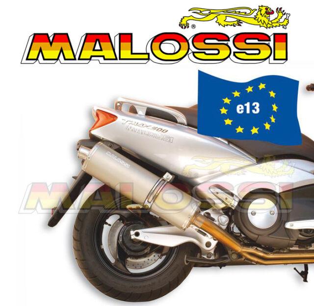 Tubo de Escape Completo Malossi Maxi Wild Lion Yamaha T-Max 500 de 2001 de 2007