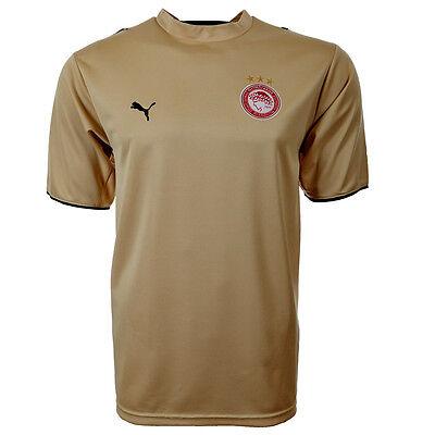 Olympiakos Piräus Auswärts Trikot Puma gold Shirt Griechenland S M L XL 2XL neu