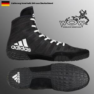 Details zu Varner Schwarz ADIDAS Ringerschuhe Ringen Schuhe Wrestling Shoes