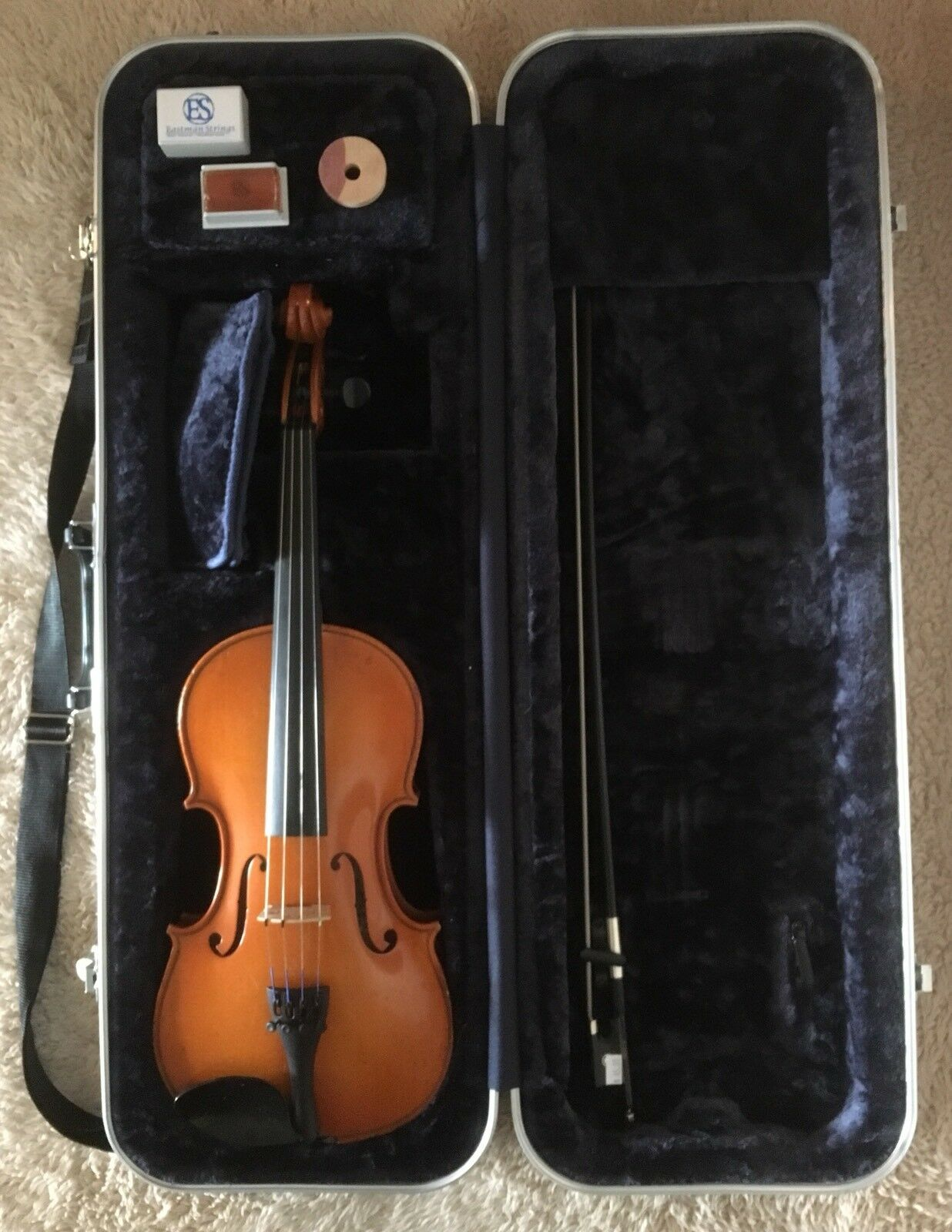 William Wm. Lewis & and Son Selmer 4 4 Full Größe Student Violin Outfit WL80E '96