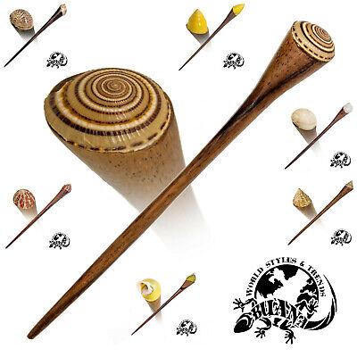 10x Holz Haarnadel Haarstab Hairpin Hairstick Vintage Haarschmuck