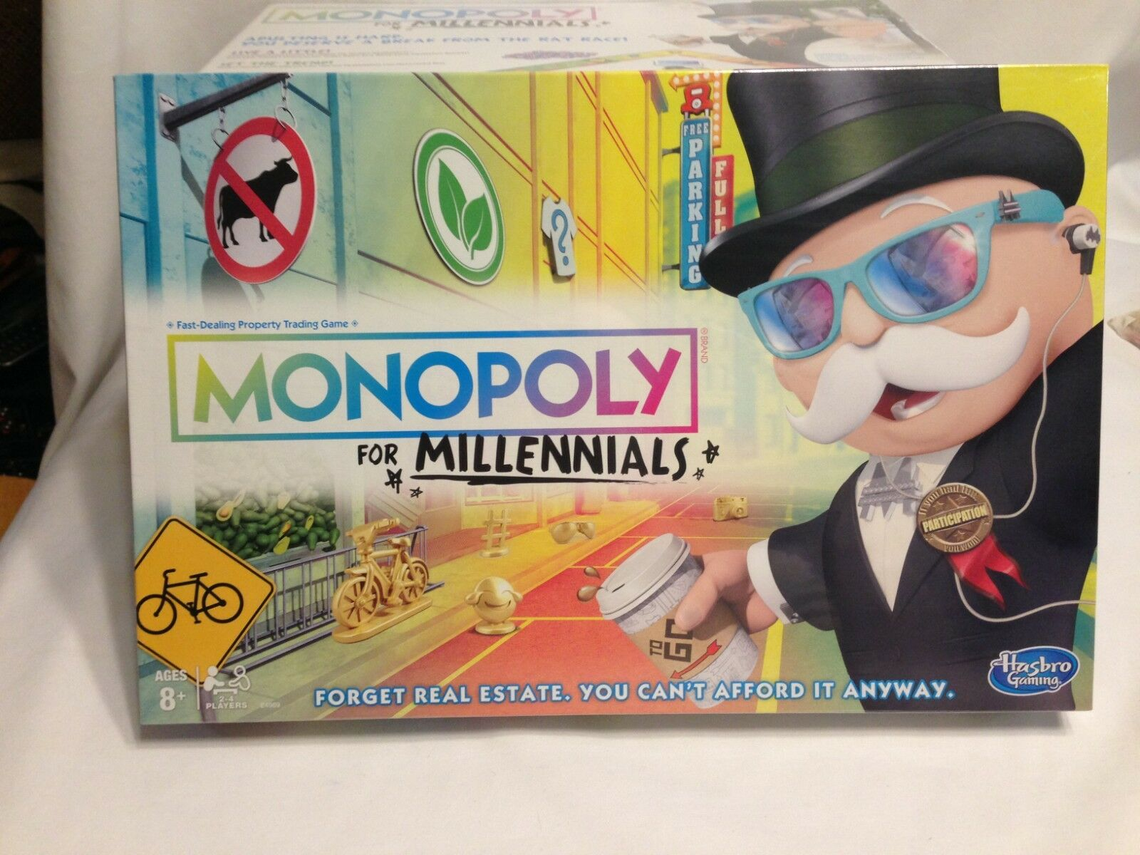 Hasbro Monopoly for Millennials Board Game Brand New
