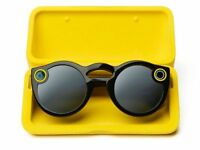 Snapchat Spectacles Version 1 Video Sunglasses, Compatible with iOS and Android (Black)