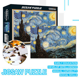 1000-Pieces-Jigsaw-Puzzle-DIY-Starry-Night-Adult-Puzzles-Kids-Educational-Toy