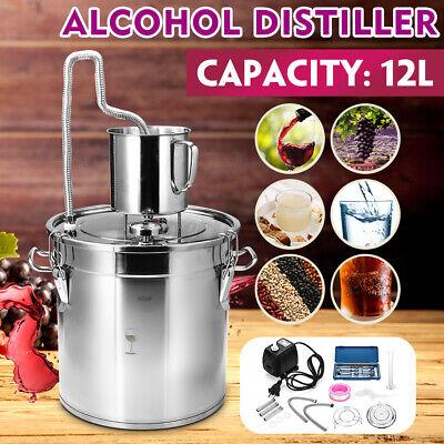 12L Alkohol Destilliergerät Destillieranlage Wein Destille Schnapsbrennen Haus