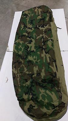 1(One) MSS woodland bivy cover army surplus