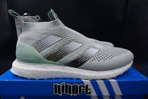 sports shoes 775c8 c0f21 Details about Adidas Ace16+ PureControl Ultra Boost Vapour Green mint white  teal BY1599 new