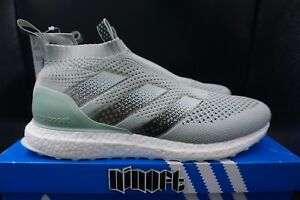 best service 59eed 0755e Image is loading Adidas-Ace16-PureControl-Ultra-Boost-Vapour-Green-mint-