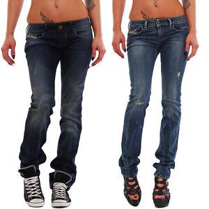 Damen-Diesel-Jeans-Lowette-Regular-Slim-Straight-Waehlbar