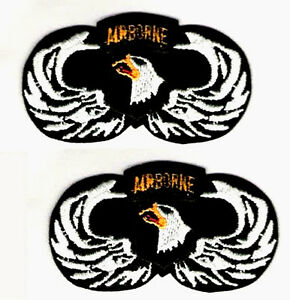 US ARMY 101TH ABN AIRBORNE AIRMOBILE JUMP WING PATCH