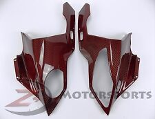 2009-2014 BMW S1000RR Upper Front Nose Fairing Cowling 100% Carbon Fiber Red