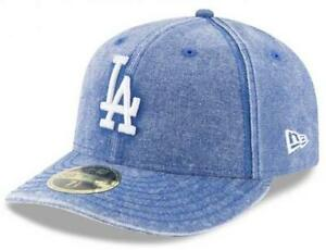 Official MLB Los Angeles Dodgers Bro Cap New Era 59FIFTY Low Profile ... 666134e6cb4