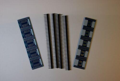10 x SOIC TSSOP SSOP 16 12 8 SMT SMD Breakout Board Breadboard Adapter