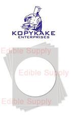 """KOPYKAKE 8"""" Circle Frosting Sheet  Edible Paper Icing Sheet - KJFS8RND"""