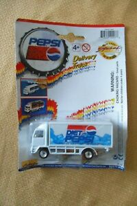 1997 Golden Wheels DIET PEPSI Die-Cast Delivery Truck Special Edition Free Ship