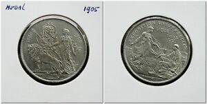 Belgium-Liege-Medal-1905-Universal-Exposition-Event-A-Michaux