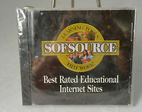 Sofsource Learning Tools Best Rated Educational Intertnet Sites Dvd Cd Rom