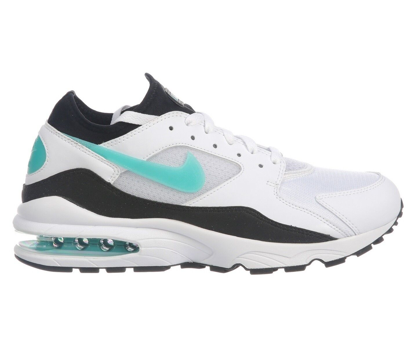 7eb912c791 Nike Air Max 93 Dusty Cactus Mens 306551-107 White Black Turquoise shoes Sz  9.5
