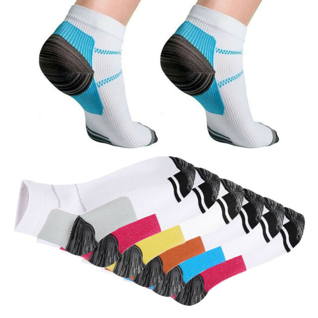 12PCS Plantar Fasciitis Compression stockings Heel Foot Arch Pain Relief Support