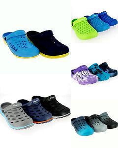 herren jungen clogs schuhe sandalen badeschuhe pantolette hausschuhe 46 ebay. Black Bedroom Furniture Sets. Home Design Ideas