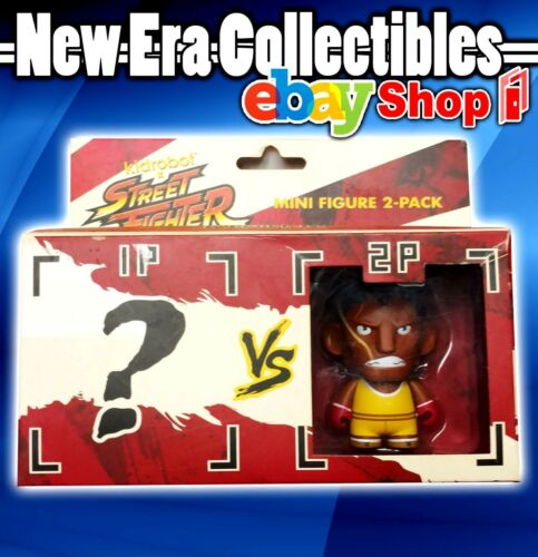 Capcom Kid Robot Street Fighter Mini Figure 2Pack BALROG VS Random Figure 2013